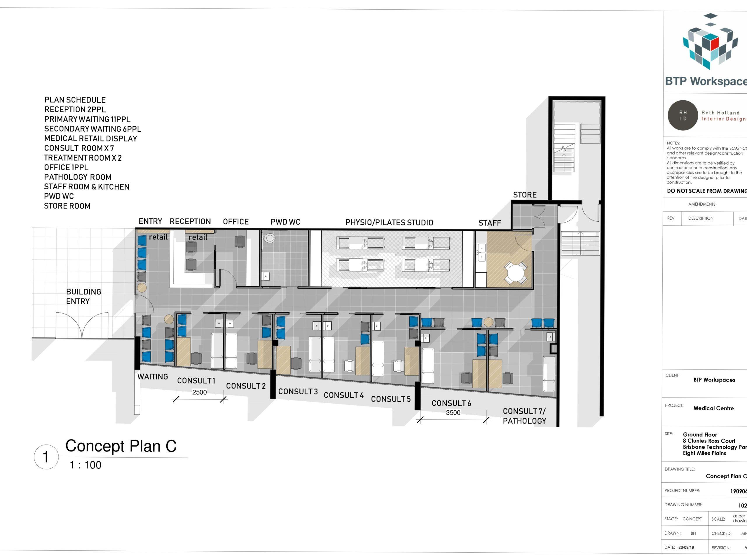 COPY 190926_Ground_8 CRC_Medical Centre_Concept Plan C_Rev A (002)